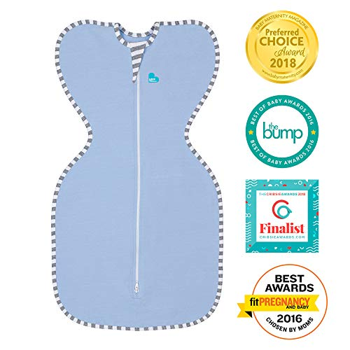 Love To Dream Swaddle UP Original 1.0 TOG, Blue, Small, 7-13 lbs.