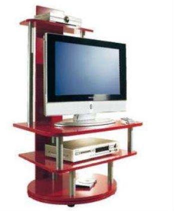 Tv drehbar 360° TV Rack Lupita in rot - 360 Grad drehbar: Finori: Amazon.de: Küche ...