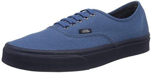 Vans Men's Authentic C and D Blue Ashes/Parisian Nights Ankle-High Canvas Skateboarding Shoe - 12M
