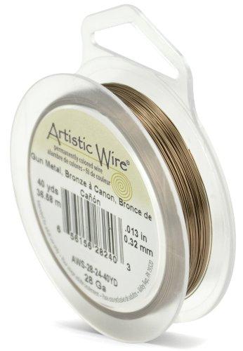 Artistic Wire 28-Gauge Antique Brass, 40-Yards