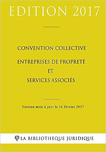 Amazon Fr Convention Collective Entreprises De Proprete Et