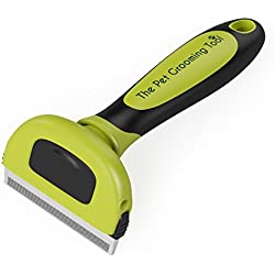 MoJo's Professional Deshedding Tool/Dog and Cat Brush for Shedding, Best for Short to Long Hair Cats & Dogs, Ideal for Small, Medium and Large Breeds, Leaves your Pet with a Healthy Shiny Coat