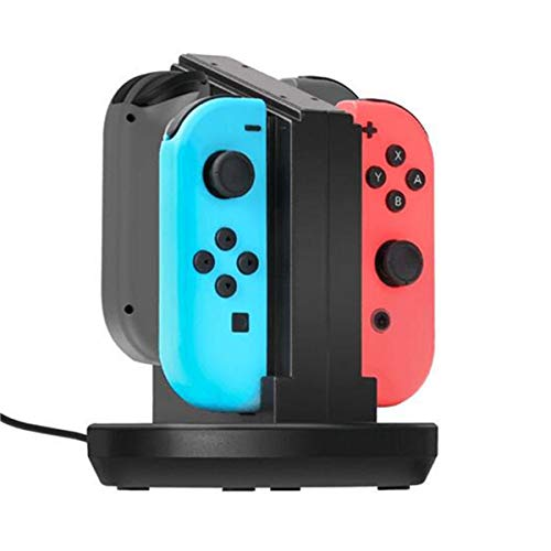 Charging Dock Cradle Station Charger For Switch 4 Joy-Con Controller - Nintendo Video Games Accessories Nintendo Switch - 1 x Charging Dock (other accessories are not included)]()