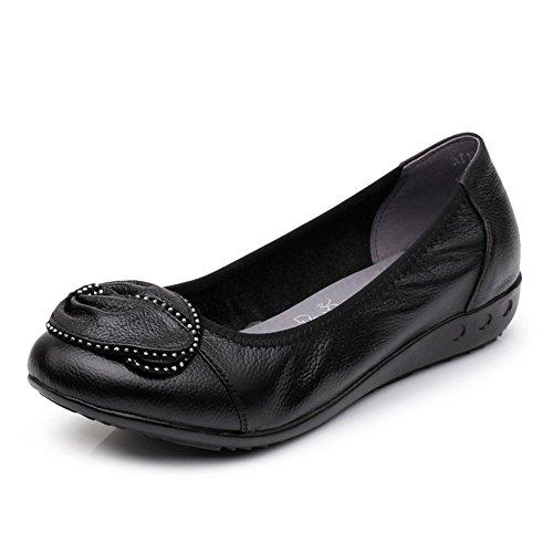 scarpe donna scarpe piatte Mamma size molli e Ladies da A inferiori Plus scarpe 6Fq44