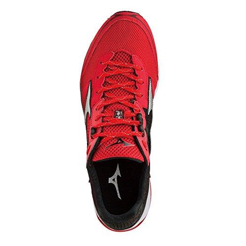 Mizuno Wave Emperor, Chaussures de Running Homme, Rouge Red