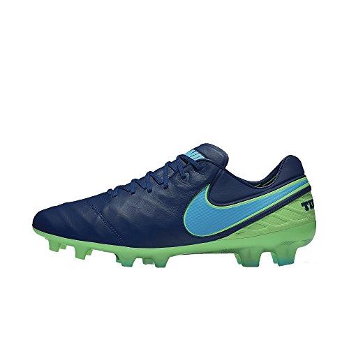 Nike Men's Tiempo Legend VI FG Soccer Cleat (Sz. 7) Coastal Blue