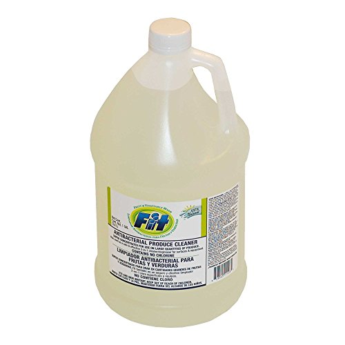 Fit Antibacterial Fruit and Vegetable Wash, Liquid 1 Gallon Bottle
