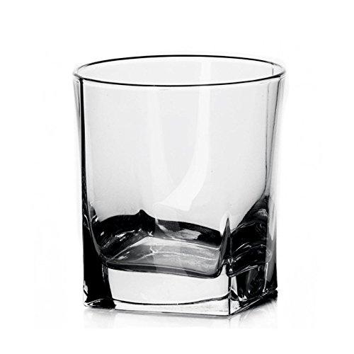 Pasabahce Carre Juice Glass, 205 ml, Set of 6