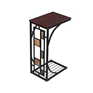 Amazon.com: Topeakmart, mesa de centro de colección ...
