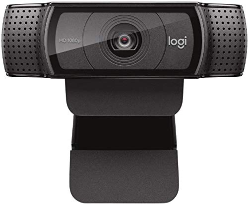 Logitech HD Pro Webcam C920 1080p Widescreen Video Calling and Recording 960 000764