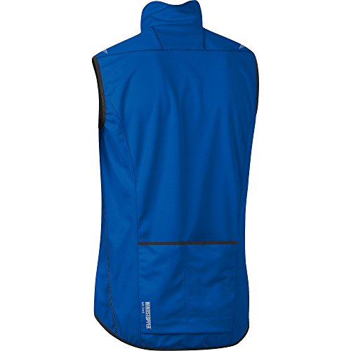 Blue Wear Vest Ws Gore Brilliant Bike Soft Windstopper So Cycling Shell Vwselm Men's 6ZSp1pqw7