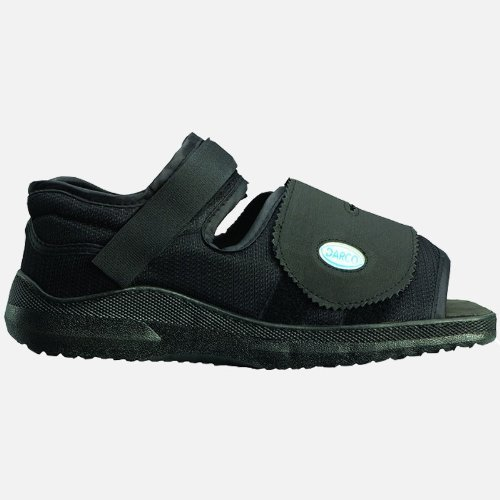 Darco Med-Surg Post Operative Shoe - Men Medium Black by Advantage by Elite Orthopaedics Inc.