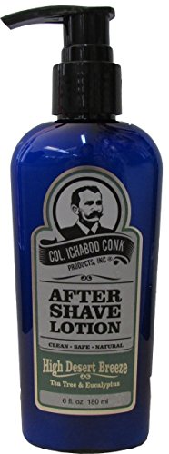 Col. Ichabod Conk High Desert Breeze Aftershave Lotion 6 fl. oz.