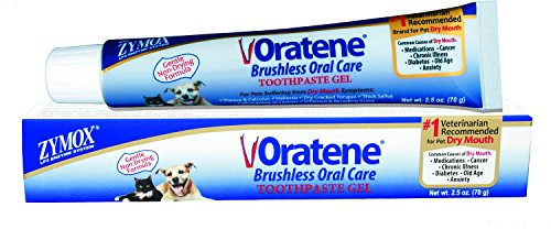 New Zymox Oratene Brushless Oral Care Gel 2.5 (Gel 2.5 Ounce Gel)