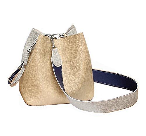Jopchunm Fashion 2 Pieces Tan Top Handle Designer Handbags Satchel Crossbody Tote Purse Hobo Shoulder Bags for Women
