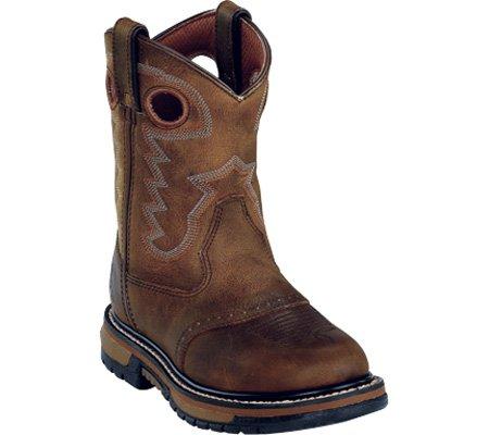 Rocky Boys' Branson Roper Western Boot Round Toe - Rocky Kids Cowboy Boots