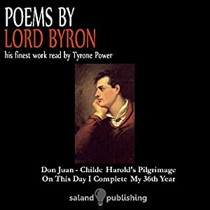Poems by Lord Byron Audiobook