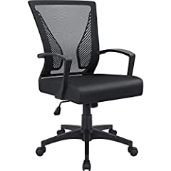 "*Specifications:   - Color:Black  - Product Size(Backrest):20""X28.3""  - Product Size(Seat):20""X20""  - Load Capacity: 265 LBS  - Adjustable height from 20"" to 24.4""  - Backrest adjustable down to a comfortable position  - Conventional Tilt Mec..."