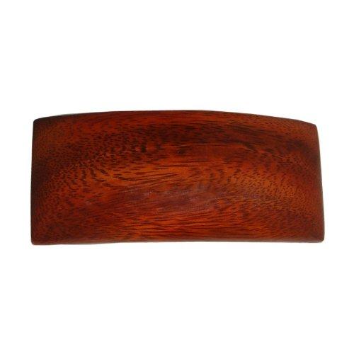Large Rectangle Barrette - Hawaiian Koa Wood Large Rectangle Hair Clip Barrette From Hawaii