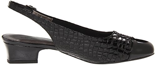 Women's Crocodile Trotters Pump Black Dea Odngwg8q