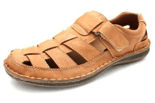 M0694T - Sandales à lanières - fermeture velcro - chaussures d'été - homme