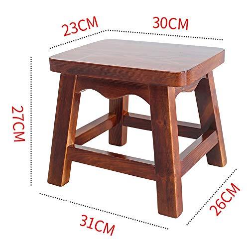 Stool - Shoe Bench, Living Room Solid Wood Sofa Bench, Household Coffee Table Stool/Small Square Stool by StoolStool (Image #1)