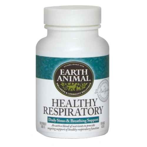 Earth Animal Healthy Respiratory Dog Supplement 90 ct