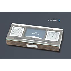 Bulova B2572 Paragon Home & Office Executive Clock