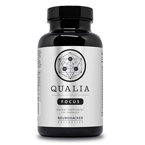 Qualia Focus Nootropic   The Brain Supplement for On-Demand Focus - Promoting Memory, Clarity and Energy with Huperzine A, Celastrus, Bacopa Monnieri, Rhodiola Rosea, Ginkgo Biloba & More
