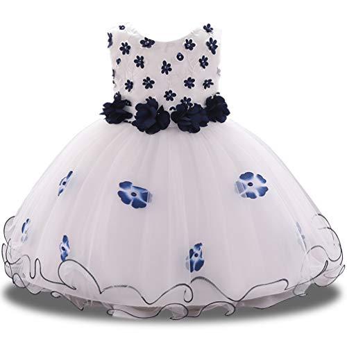Baby Toddler Princess Lace Flower Girl Dress Fancy