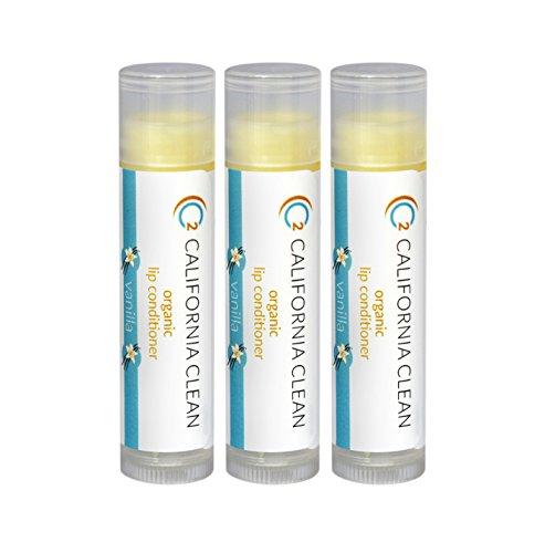 Price comparison product image Best Lip Conditioner and Lip Balm for Chapped Lips- C2 California clean (Vanilla)