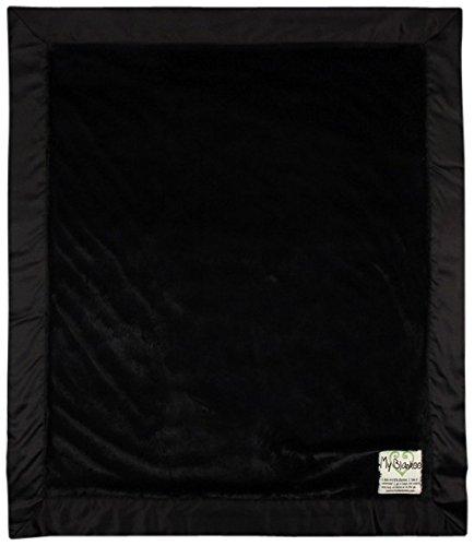 "My Blankee Luxe Baby Blanket, 14"" x 17"", Black"