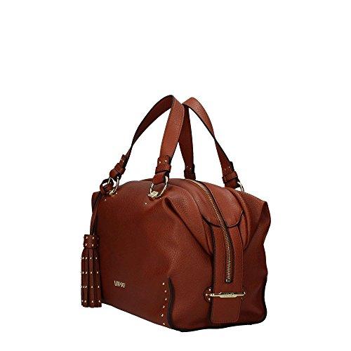N67141e0011 Boston cognac Brown Bag Braun Etampes Liu Jo nEWq77I