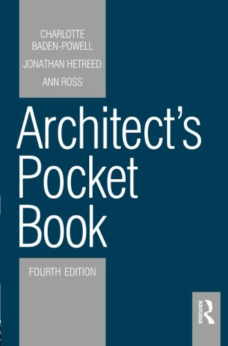 Architect Pocket - Architect's Pocket Book, Fourth Edition (Routledge Pocket Books)