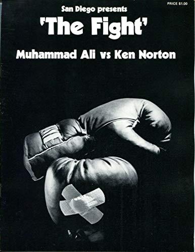 - 1973 Muhammad Ali v Ken Norton Program The Fight 3/31 San Diego 1st Bout 52613b4