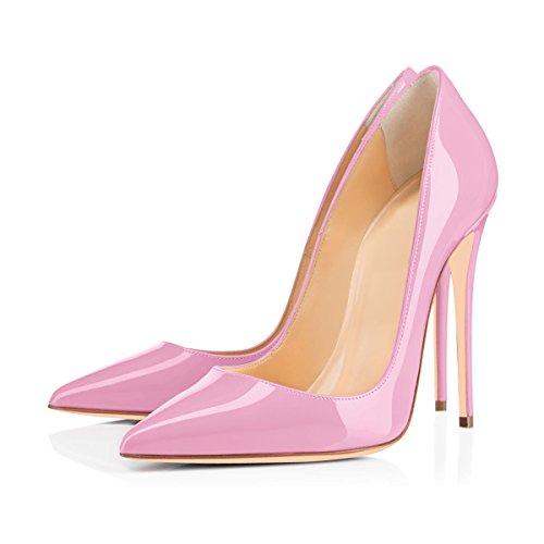 classiques Pour et aiguilles Glaenzendes femmes basiques Multicolores Candy Modernes Talons Pink Onlymaker RZ61axwq