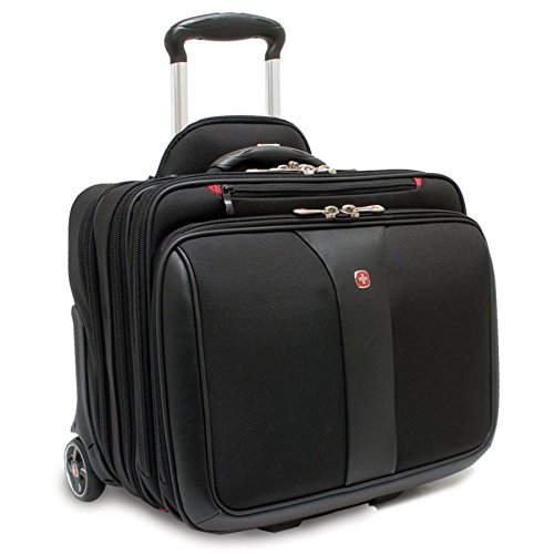 Wenger Patriot Rolling Case Blk Up To 17IN Laptop with no...
