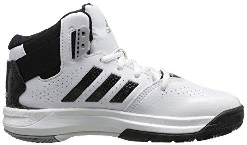 adidas Outrival 2K Zapatilla De Baloncesto (poco Kid/Big Kid) Blanco/Negro/Plateada