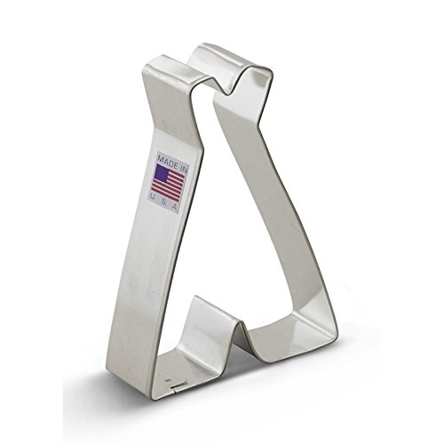 Ann Clark Teepee Cookie Cutter - 4 Inches - Tin Plated Steel