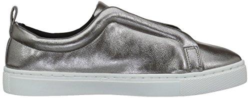 Qupid Dames Reba-138d Mode Sneaker Tinnen Parel Polyurethaan