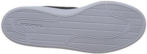adidas Herren Cloudfoam Advantage Sneaker, Schwarz (Negbas / Negbas / PLAMET)