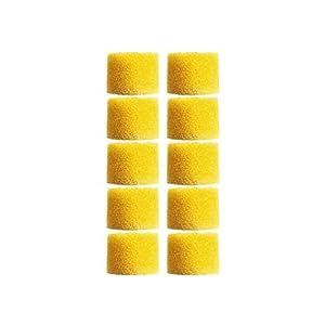 Shure EAYLF1-100 Yellow Foam Sleeves Bulk, 100