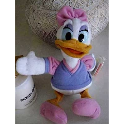 Disney Daisy Duck Bean Bag Plush - 9 Inches By Mickey for Kids Star Bean by Mattel: Toys & Games