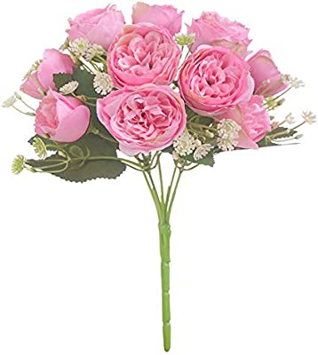Yjoyce Small Flower Peony High Grade Artificial Flower Wedding