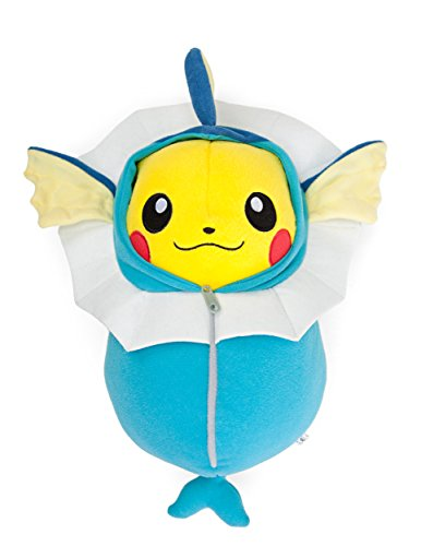 BANPRESTO Pokemon Plush Pikachu Nebukuro Sleeping Bag Vaporeon (Plush Sleeping Bags)