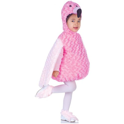Underwraps Costumes Baby's Flamingo Belly-Babies, Pink, X-Large