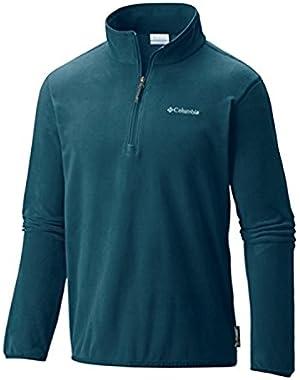 Columbia Men's Ridge Repeat Half Zip Fleece, Deep Water, 2X
