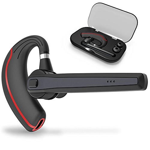 Bluetooth Headset, Wireless Earpiece for Cell Phones, In-Ear