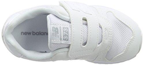 New Balance Unisex-Kinder Kv373 Kurzschaft Stiefel Weiß (White)