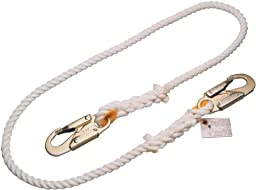 Miller Titan by Honeywell T9111R/3FTWH 3-Feet Positioning and Restraint Rope Lanyard